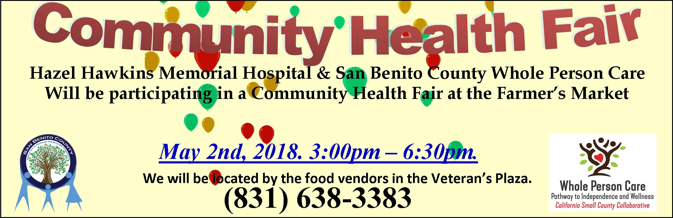 Wpc Health Fair banner