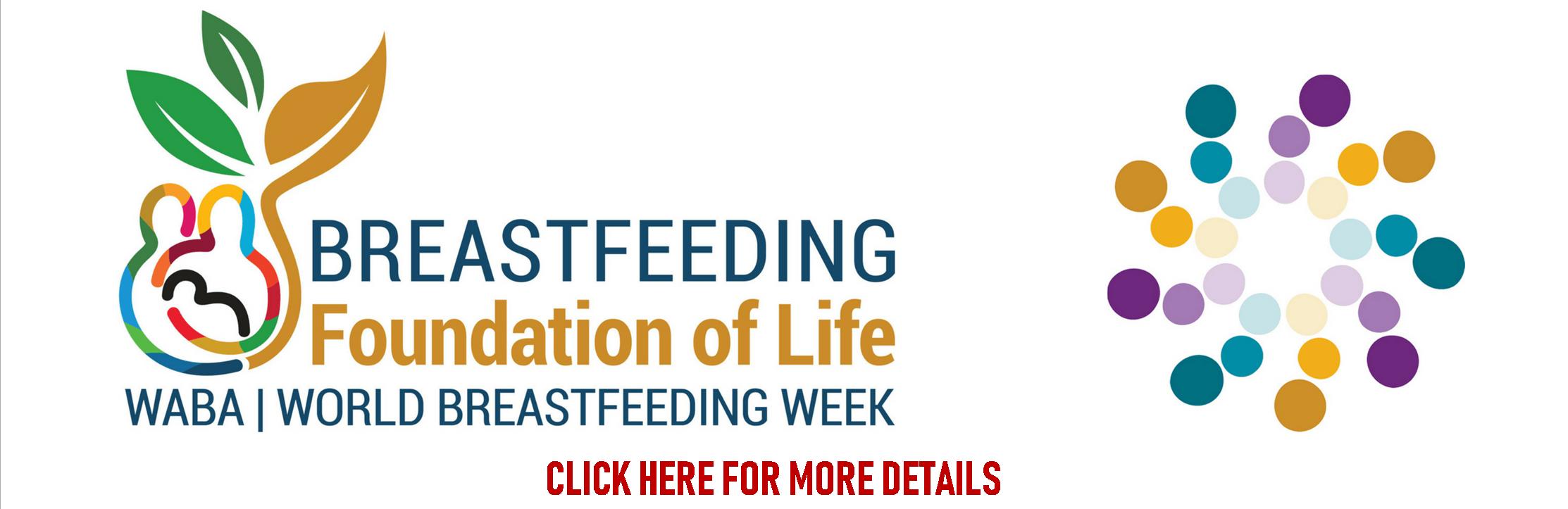 banner breast feeding week