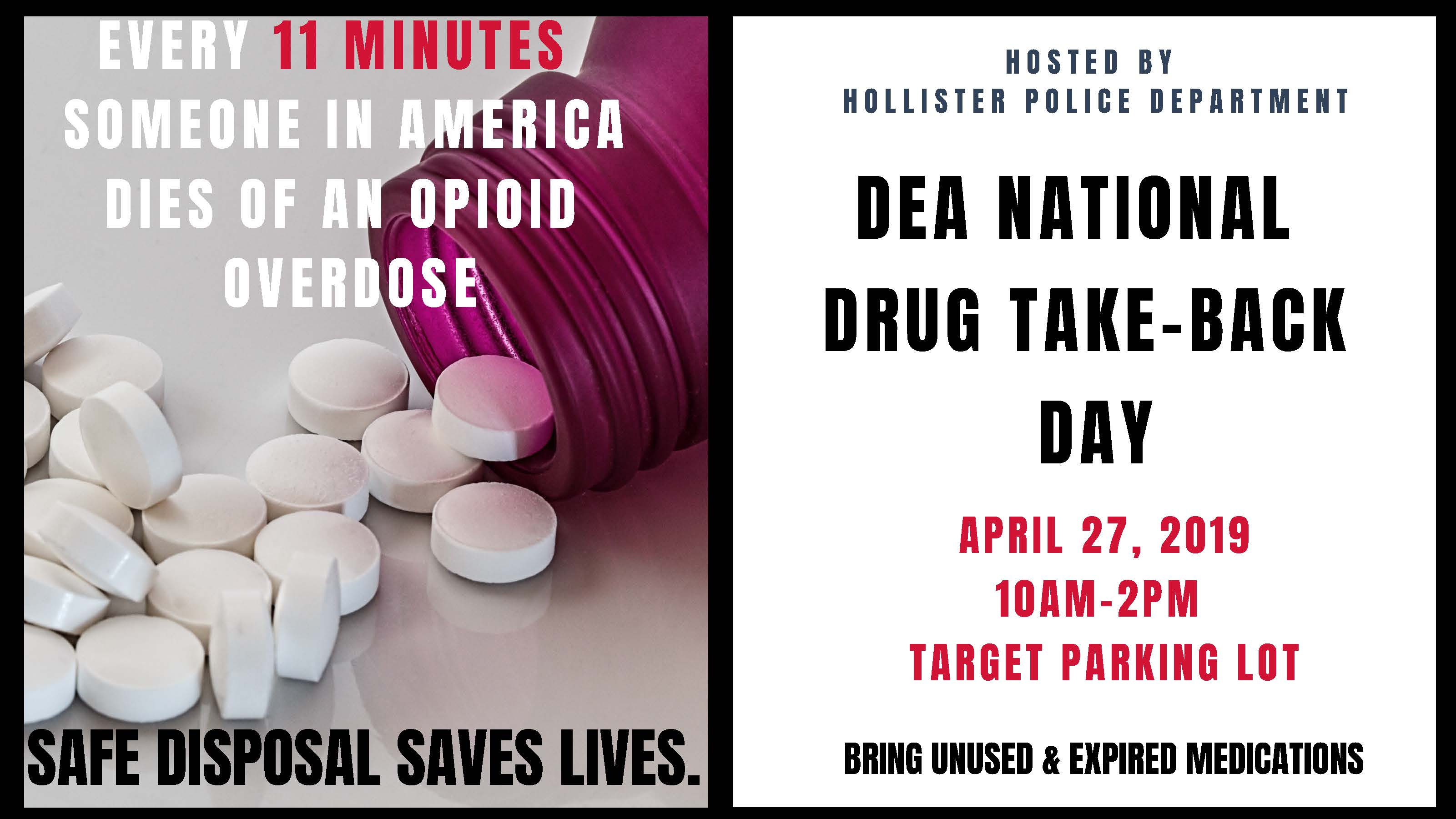 DEA Take Backf flyer 4-19